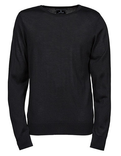 Tee Jays Mens Crew Neck Sweater inkl. Druck